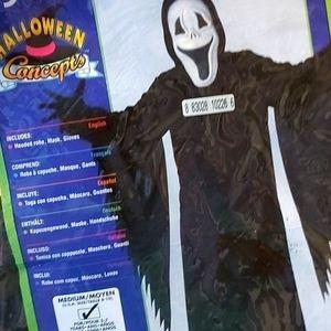 Boy's Halloween costume.